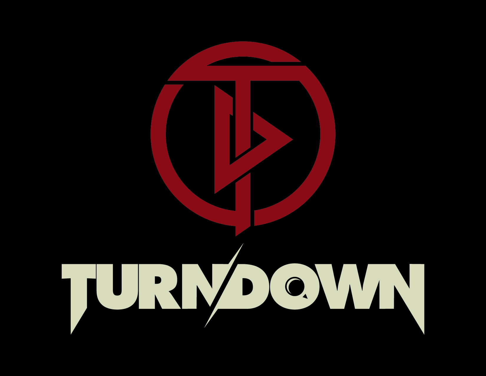 TURN-DOWN-CREAM-RED-LOGO