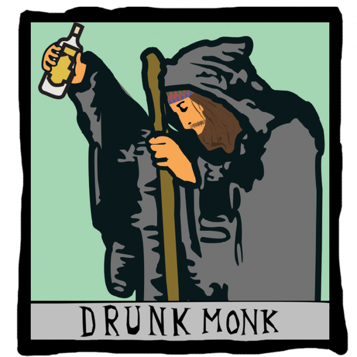 Phive 6 - Drunk Monk Prod. By Melrose Zee