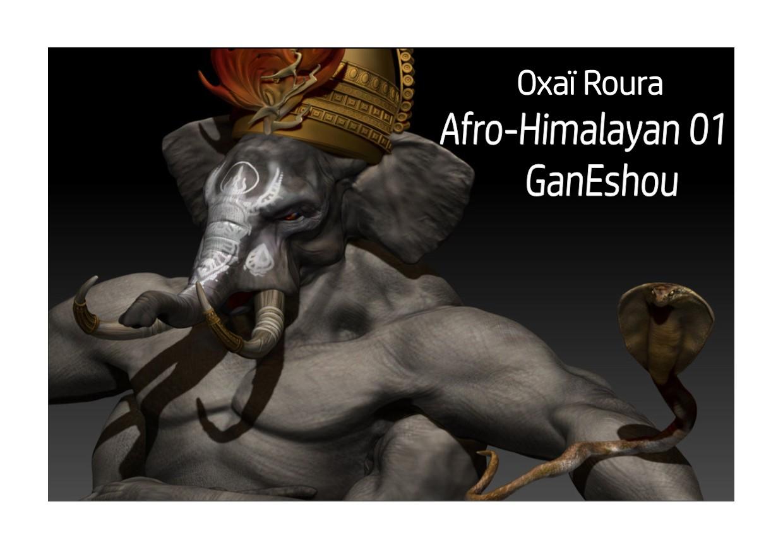 Oxaï Roura - Afro-Himalayan 01: GanEshou (Review)