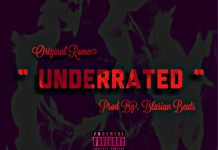 Original Rome - Underrated (Prod By. Blasian Beats)