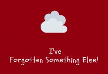 Phillip Foxley - I've Forgotten Something Else!