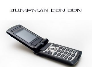 Jumpman Don Don - Flip Phone