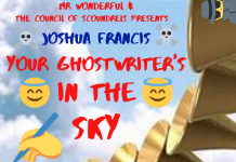 Joshua Francis - Your Ghostwriter's In The Sky