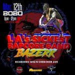 Bazerk launching new single at their show Brake Stuff