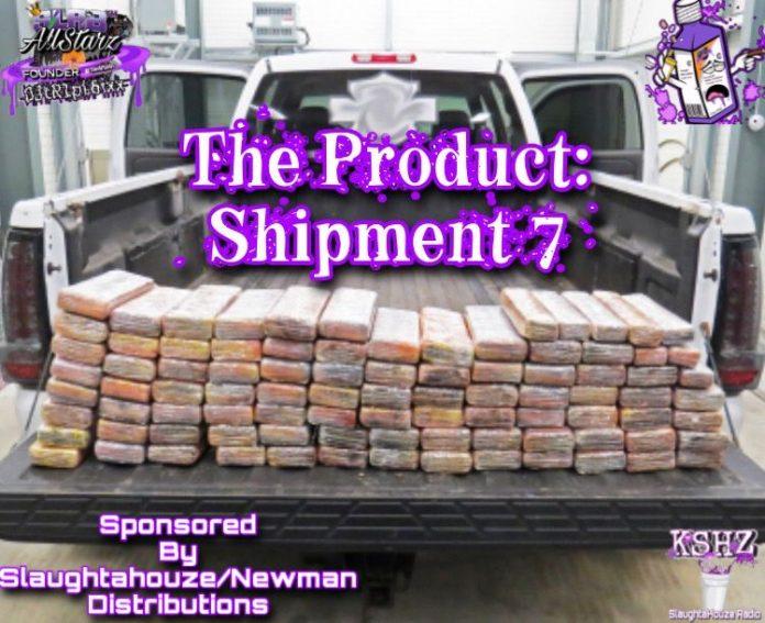 @DJ_tR1pL_6ixx of The SlabAllstarz DJs - The Product: Shipment 7