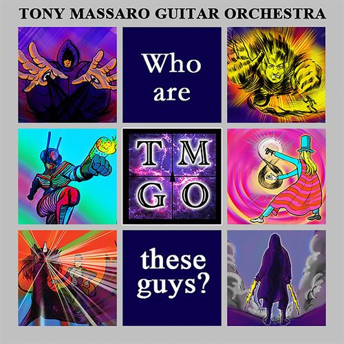 Tony Massaro Guitar Orchestra - A Turbulent Ride