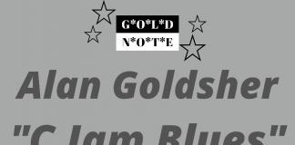 Alan Goldsher - C Jam Blues (Gold Note Singles Club, Vol. 7)