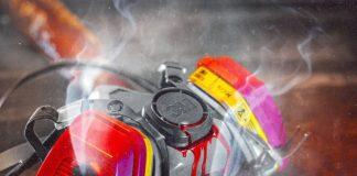 Moe Fyaz x Skii Mask Lux XO - All Smoke